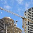 Building of multistoried buildings - Stock Photo