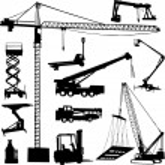 Crane — Stock Vector