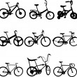 Bicycles — Stockvektor #2709560