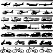 Transportation — Stock Vector