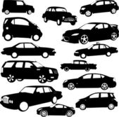Cars collection — Vector de stock