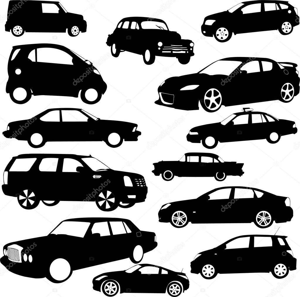 Cars collection - vector — Stock Vector #2715706