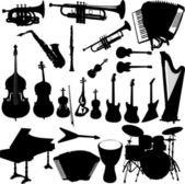 Instrument — Vector de stock