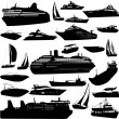 Collection of sea tranportation — Stock Vector #3268179