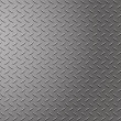 Diamond metal background - 图库照片