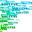 Success background — Stock Photo