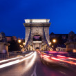 Night lights in Budapest - Foto Stock