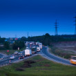 Royalty-Free Stock Photo: Traffic at night
