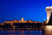 Night lights in Budapest — Stockfoto