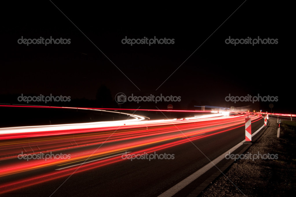 Traffic at night  — Stock Photo #3116105