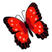 Illustrazione di farfalla — Vettoriale Stock