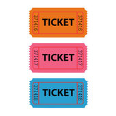 Ticket Illustration — Stock Vector
