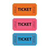 Ticket Illustration — Stock Vector