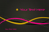 Sample Text Background — Stock Vector