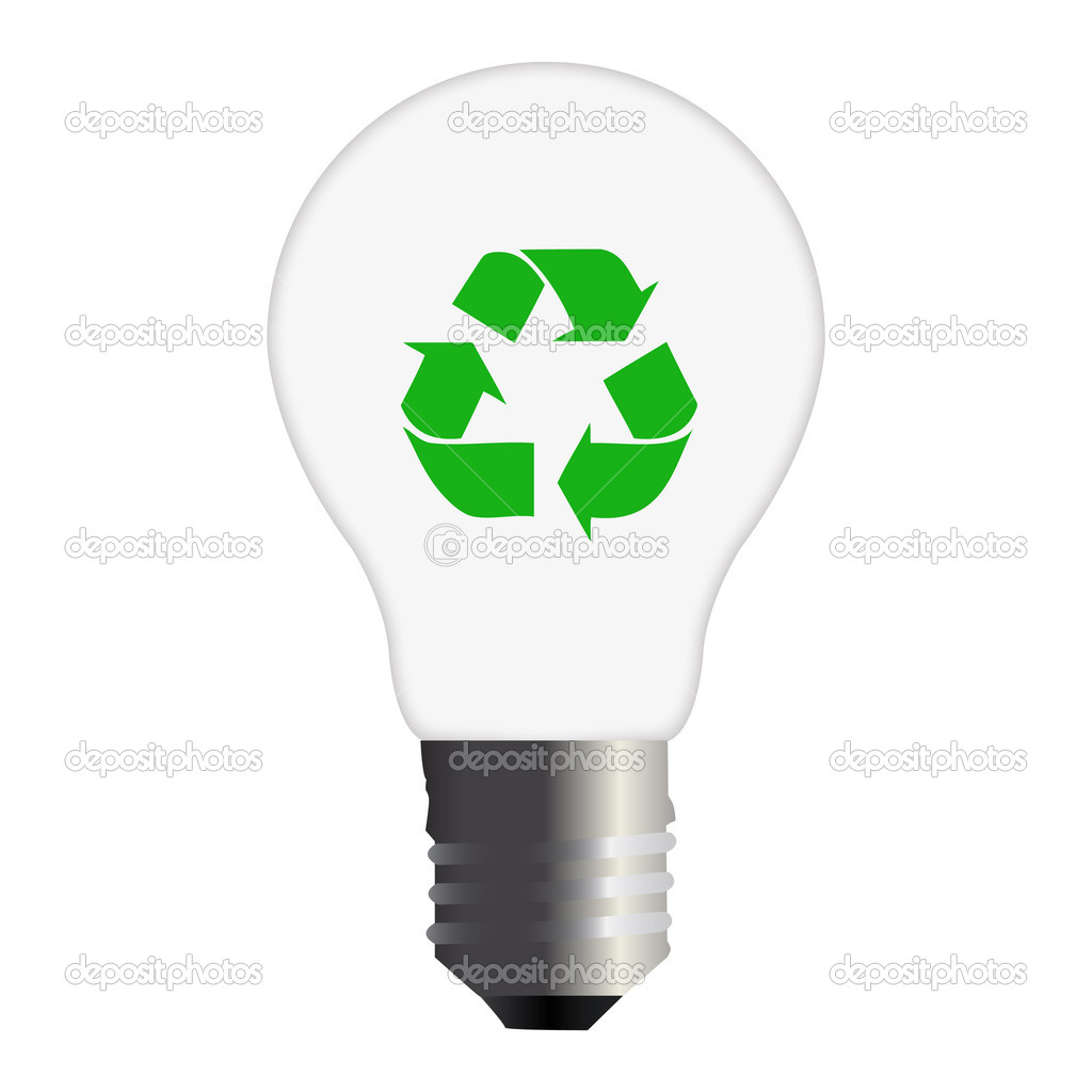 Recycle Bulb Stock Photo Nmarques74 3056192