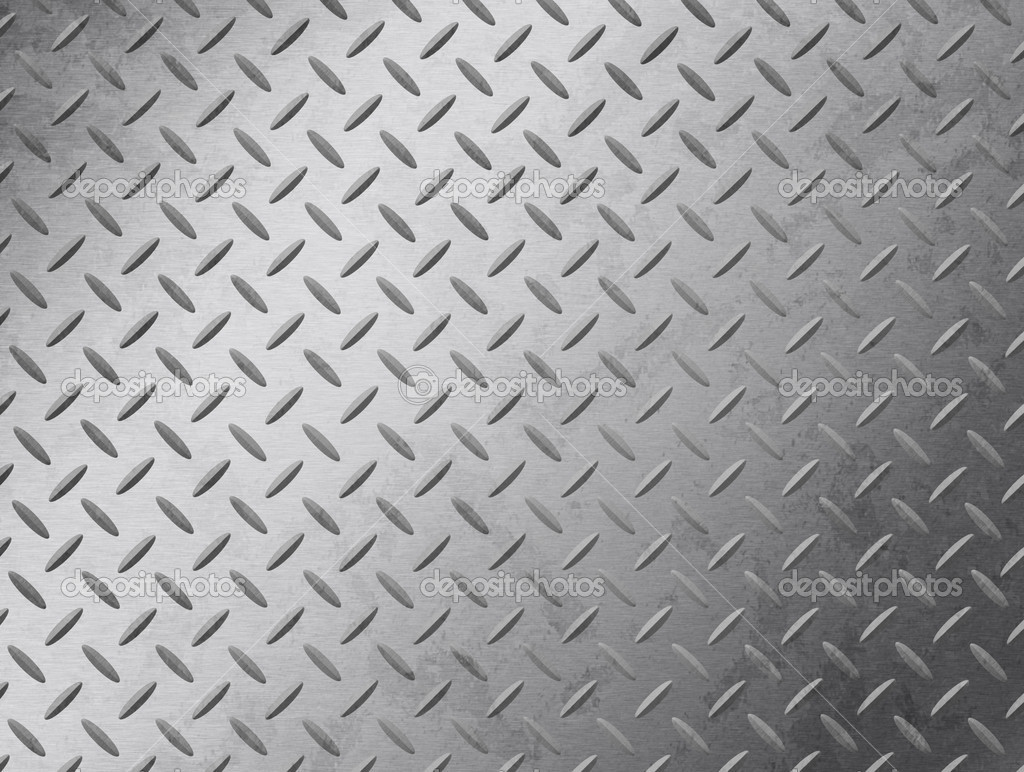 Image of a grungy diamond plate texture. — ストック写真 #3120009