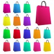 Shopping Bags — Vettoriali Stock