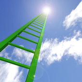 Sky Ladder — Stock Photo
