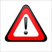 Warning Sign — Stock Vector