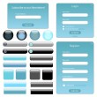 Web Template - Image vectorielle