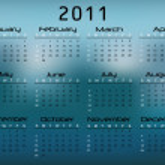 2011 Calendar — Stock Vector #3436194