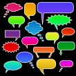 Stock Vector: Chat Bubbles