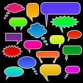 Chat Bubbles — Stock Vector