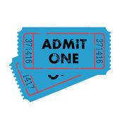 Grunge Vector Tickets — Stock Vector