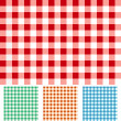 Checker Patterns - Stock Vector