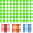 Stock Vector: Checker Patterns