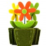 Flower decoration — Stock Photo