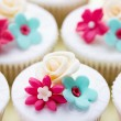 Foto Stock: Wedding cupcakes