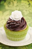 Rose cupcake — Foto de Stock