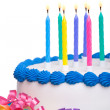 birthday cake — Stock Photo #3087039
