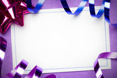 Party invite — Stock Photo