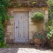 Rustic Mediterranean doorway — Stock Photo