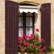 Beautiful Mediterranean window — Stock Photo