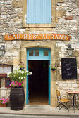 Restaurant in the Dordogne region of France — Stock Photo
