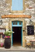 Restaurant in the Dordogne region of France — Stock Photo