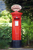 Traditional British Postbox — Stock Photo