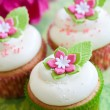 Flower cupcakes — Stock Photo #3746072