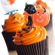 Halloween cupcakes — Stock Photo #3875535