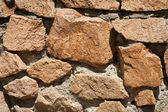 Wall of stone — Stock Photo