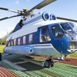 Royalty-Free Stock Photo: Helicopter in Russia