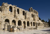 Amphitheater entrance in Athens — Stock Photo