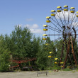 Children playground in Chornobyl - Stock Photo