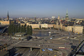 Panorama of Stockholm, Sweden — Stockfoto