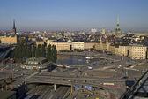 ストックホルム、スウェーデンのパノラマ — ストック写真