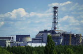 чернобыльская аэс — Стоковое фото