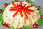 チーズのサラダ — ストック写真